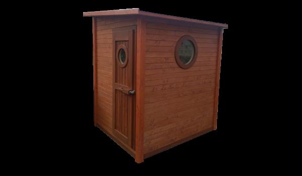 sauna de exterior modelo Mazarambroz
