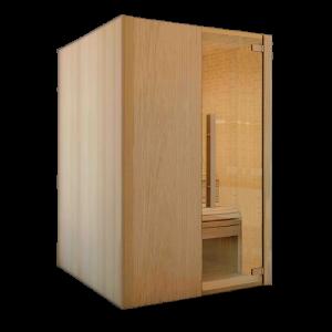 sauna modular para 4 personas saunascentro