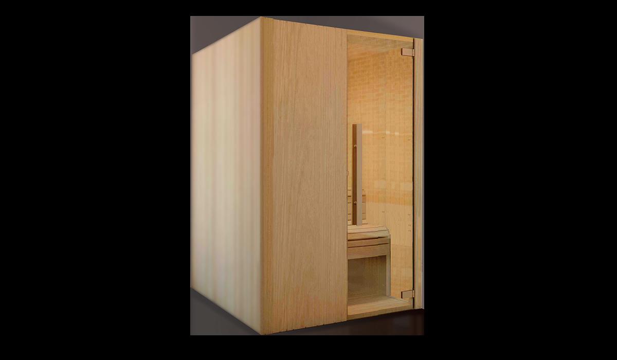 Sauna modular tipo 2 saunascentro fabricaci n de - Tipos de saunas ...