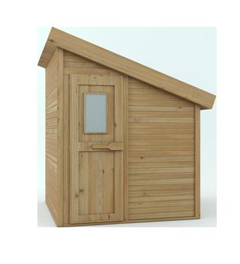 sauna de exterior modelo sonseca